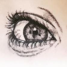 Your Eye, tattoo on fake skin
