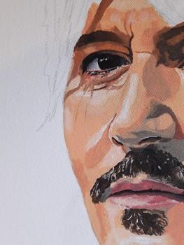 Johnny Depp - Unfinished - closer