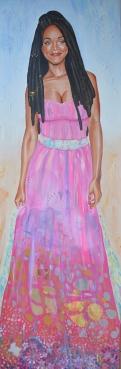 portrait rihanna fan art fanart star