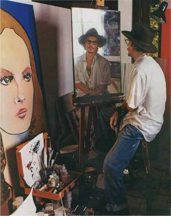 Johnny Depp paints (I do not own the rights, please send me a message if you are the rights owner and want it removed)