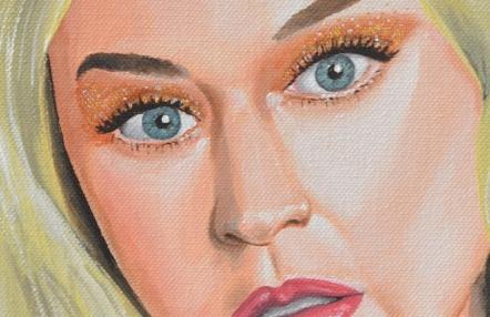 Katy's portrait - detail