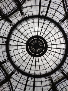 The glass dome