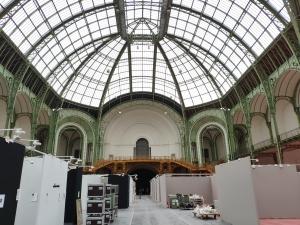 Preparation of the art fair