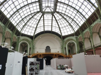Preparation of the art fair