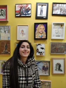 Julia Roberts in the Yellow room