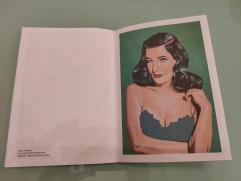My portrait of Dita von Teese in Wotisart? #32, December 2019. Wotisart? is a British art magazine.