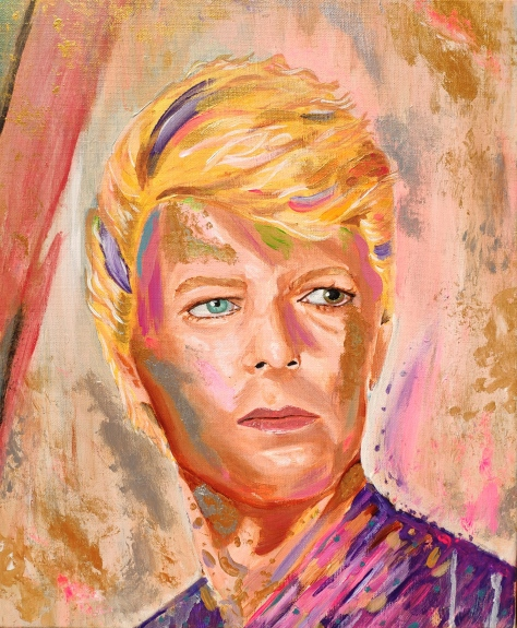 Spirit Bowie David Bowie Sarah Anthony artist painter peinture